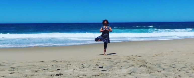 Wandelen en yoga(Hiking and Yoga in Portugal)